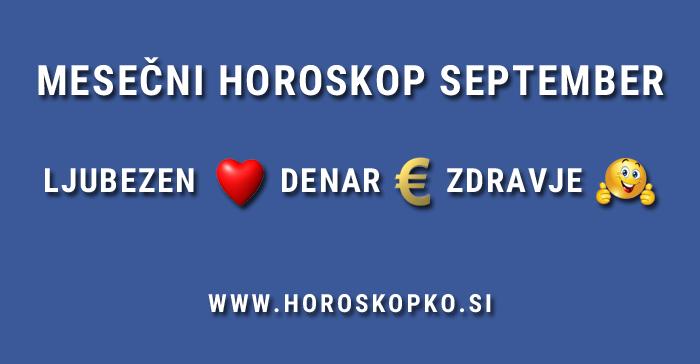 Horoskop september 2017