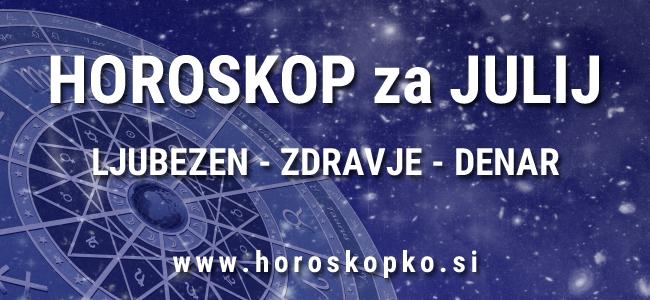 Horoskop julij 2017