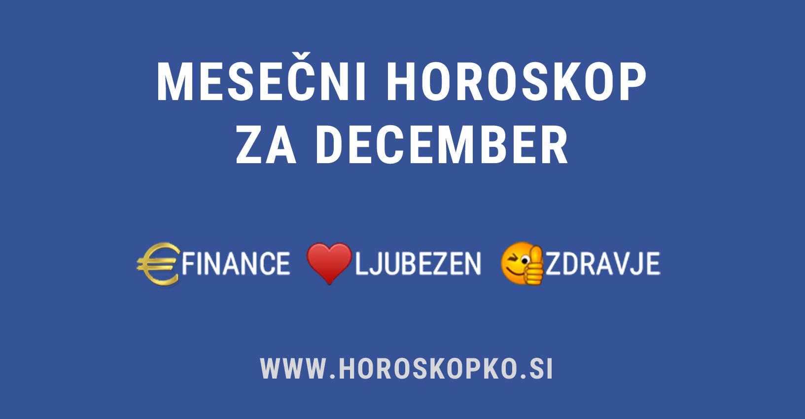 Horoskop december 2019