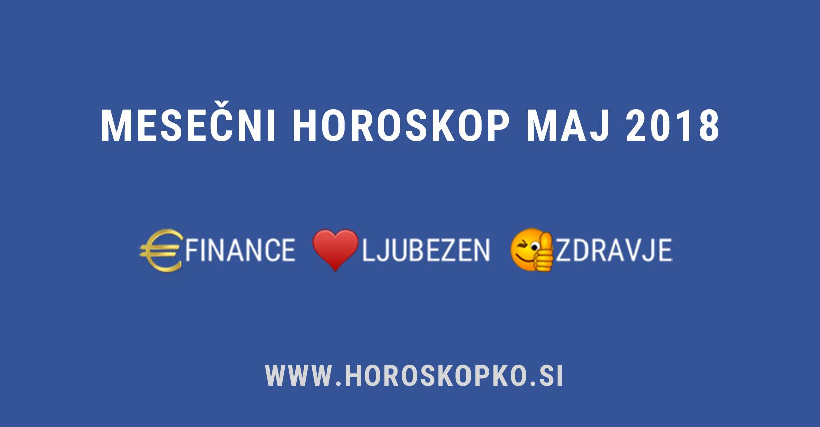 horoskop maj 2018