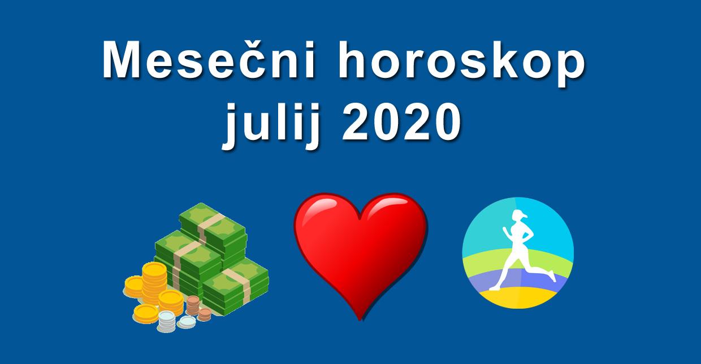horoskop julij 2020
